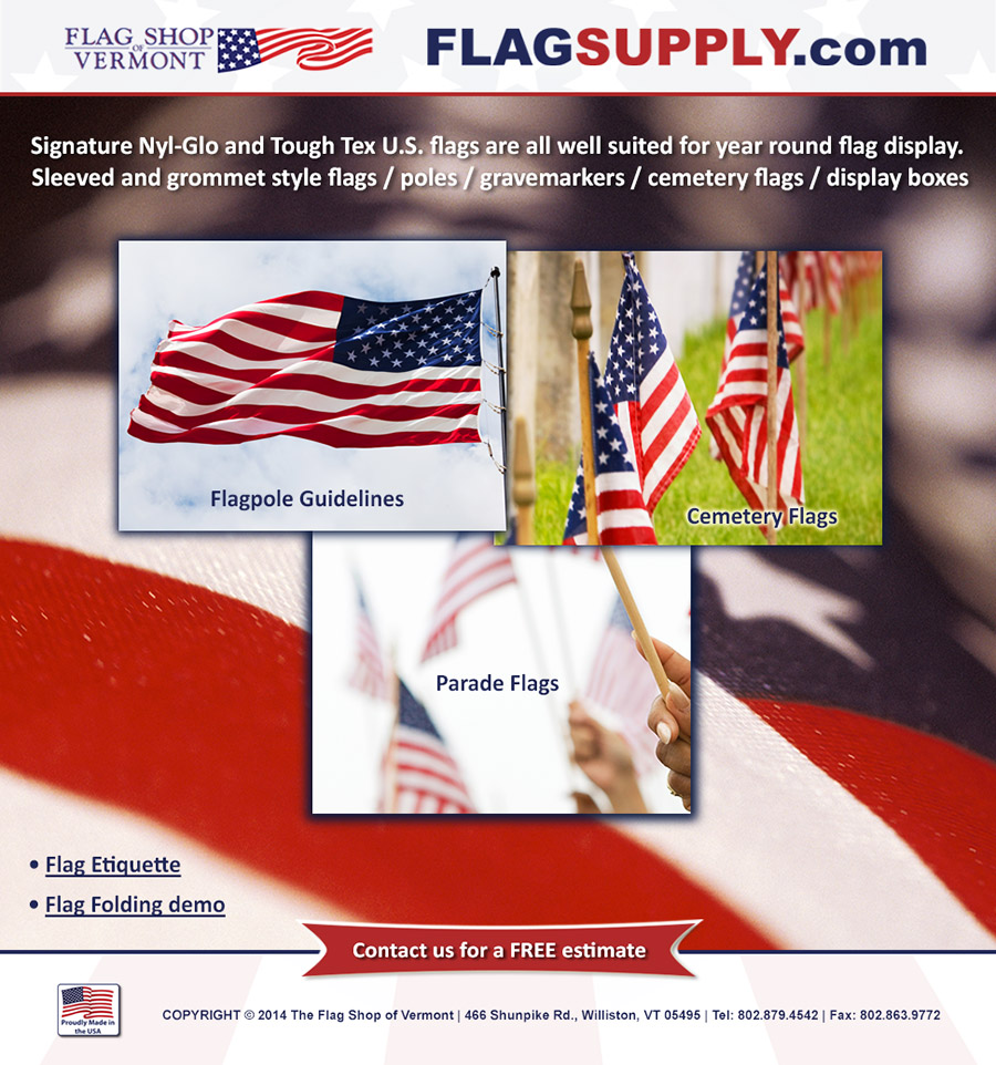US Flags Details